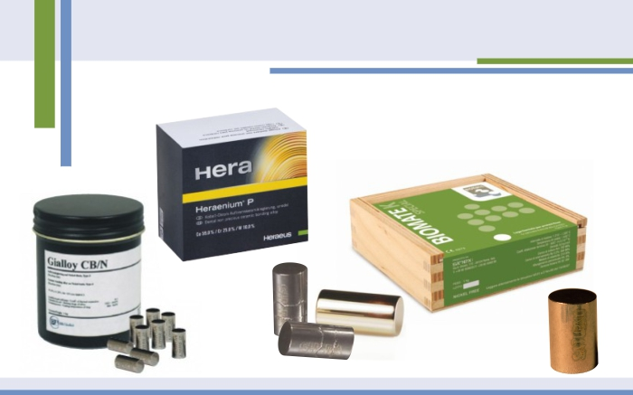Aliaje ideale pentru lucrările dentare: metalo-ceramice, metalo-compozit, metalo-acrilice, pentru ceramică clasa 3* sau pentru realizarea protezelor scheletizat