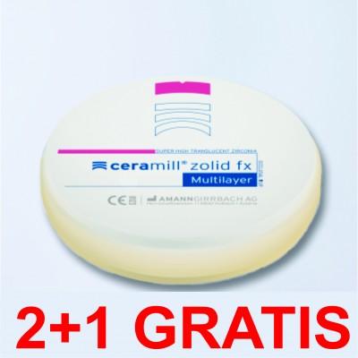 DISCURI ZIRCONIU (Blank) Translucent Multilayer 98mm CAD/CAM