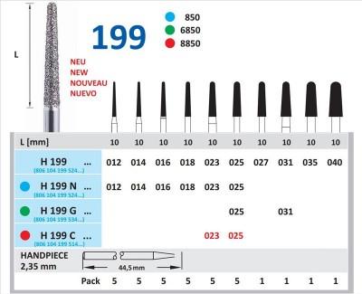 Freza Diamantata Horico H 199 C