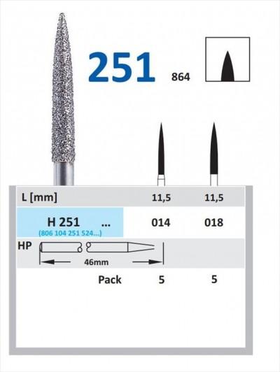 Freza Diamantata Horico H 251