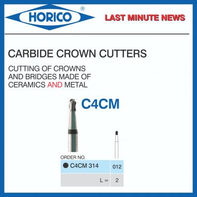 Freza Horico CROWN CUTTERS C4CM 314 012