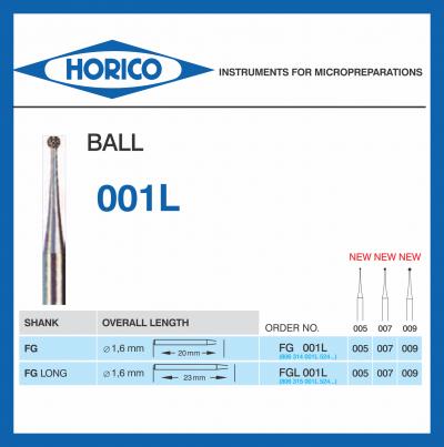 Freza Diamantata Horico FGL 001L