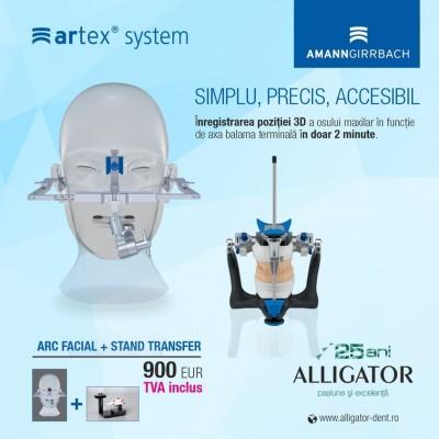 Combo Arc facial Artex + Stand de Transfer