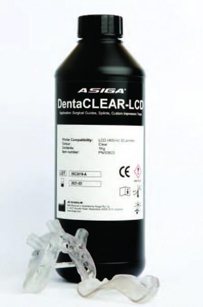 Asiga DentaCLEAR-LCD