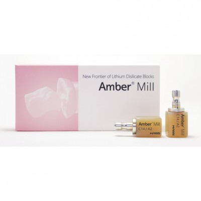Blocuri disilicat de lithium Amber Mill