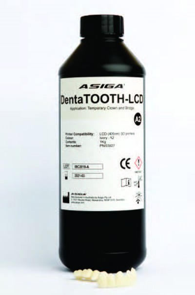 Asiga DentaTOOTH-LCD