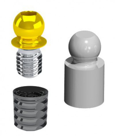 KIT Threaded Spheres Micro 139KSFM